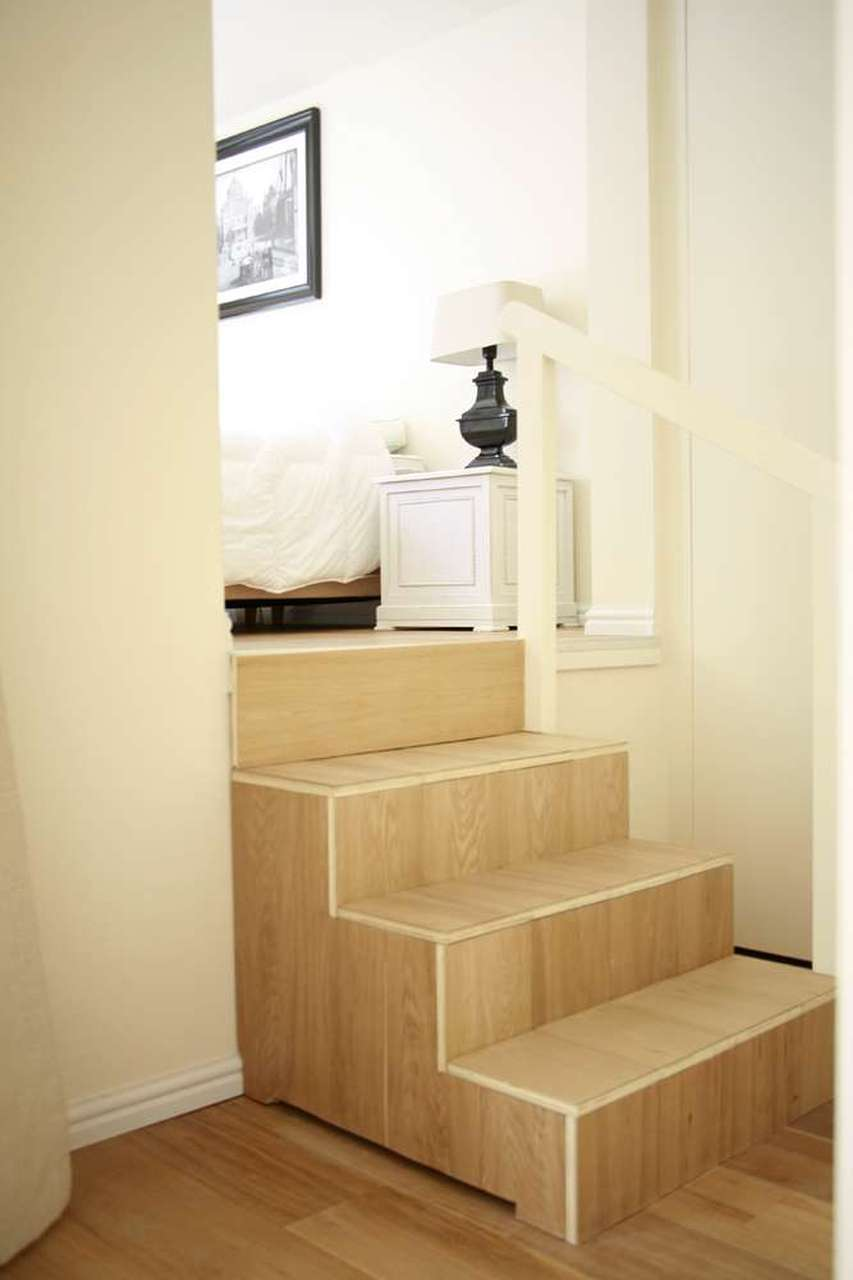 Stairs at Le Petit Prince III Apartment, Amsterdam