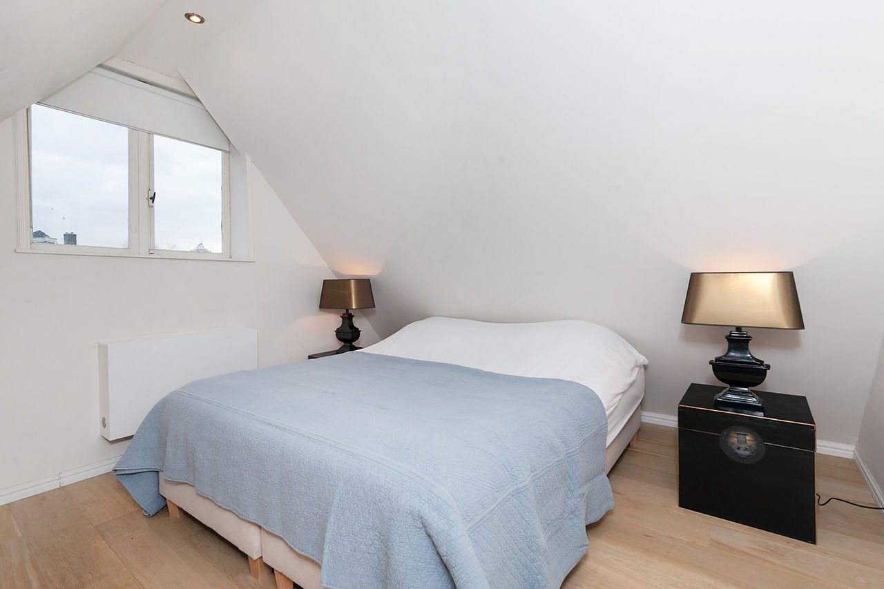 Bedroom at Le Petit Prince III Apartment, Amsterdam
