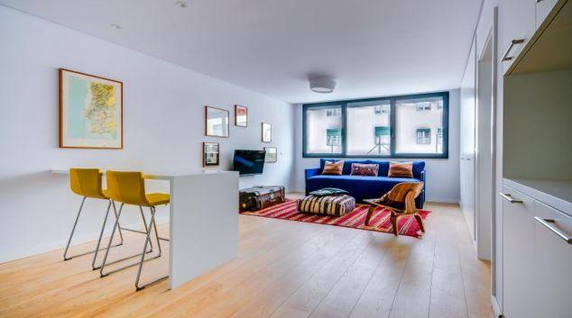 Living area at Avenida da Liberdade Apartment