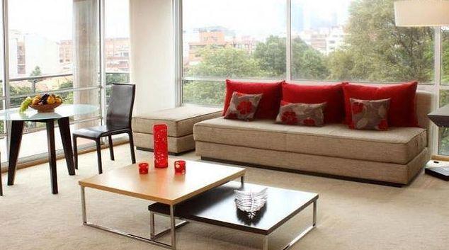 Living area at Barbara Empire Apartment