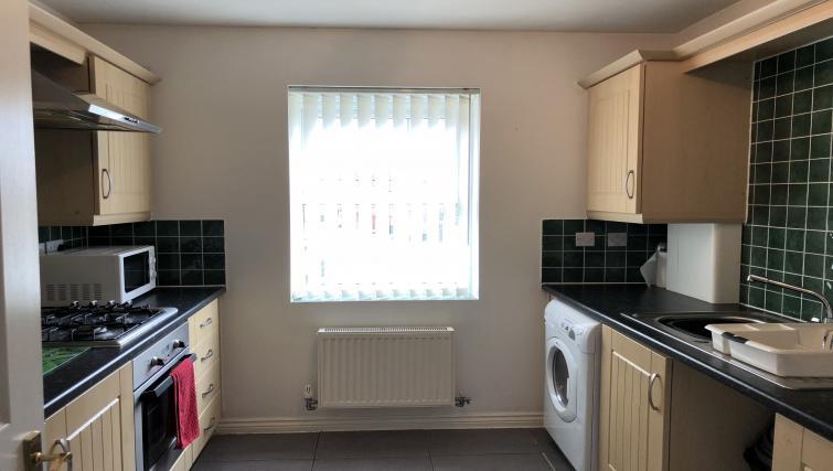 Kitchen at Barley Mews Apartments, Centre, Peterborough