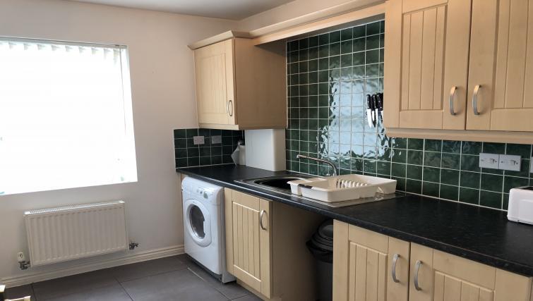 Washing machine at Barley Mews Apartments, Centre, Peterborough