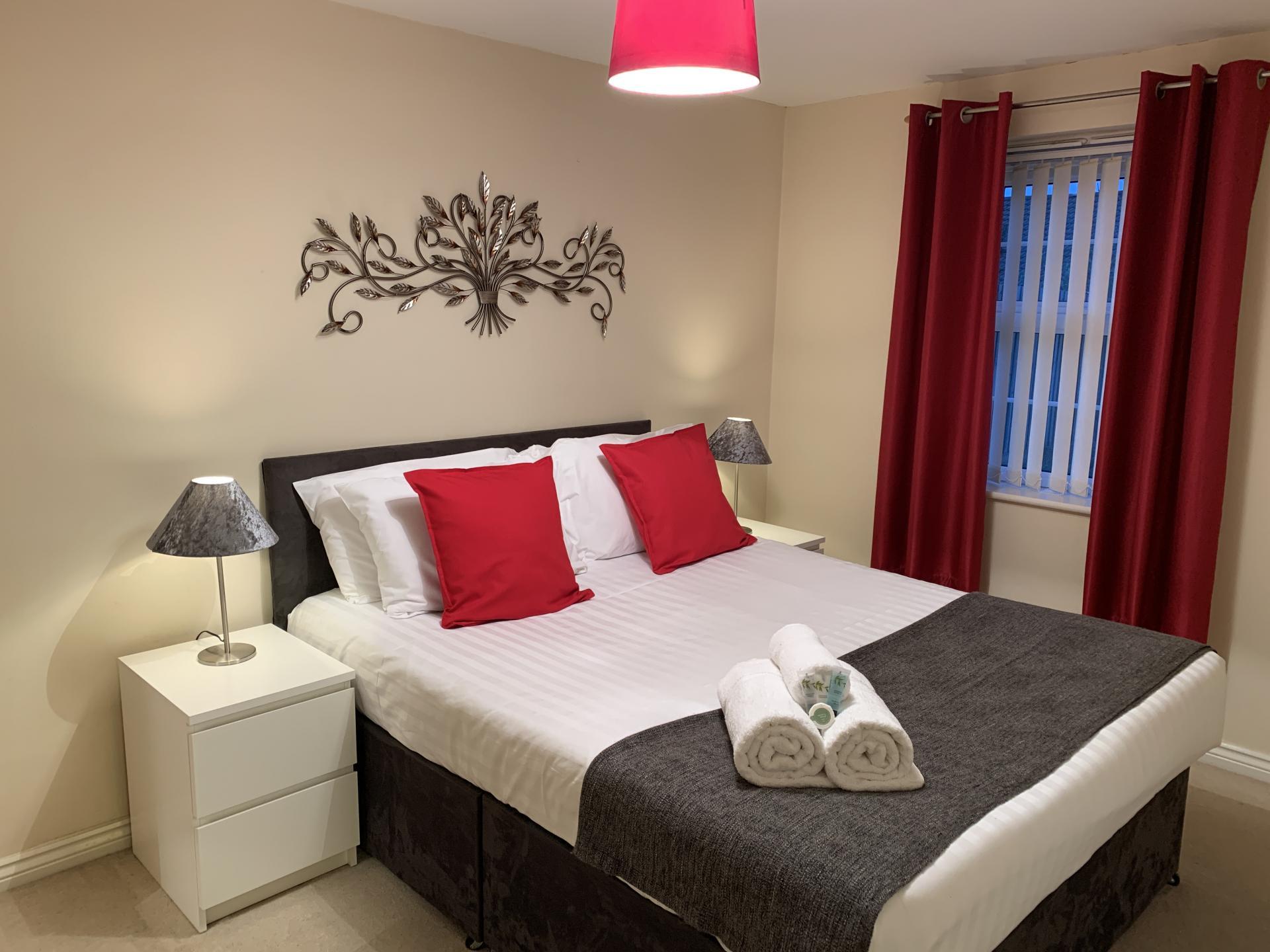 Sleep at Barley Mews Apartments, Centre, Peterborough