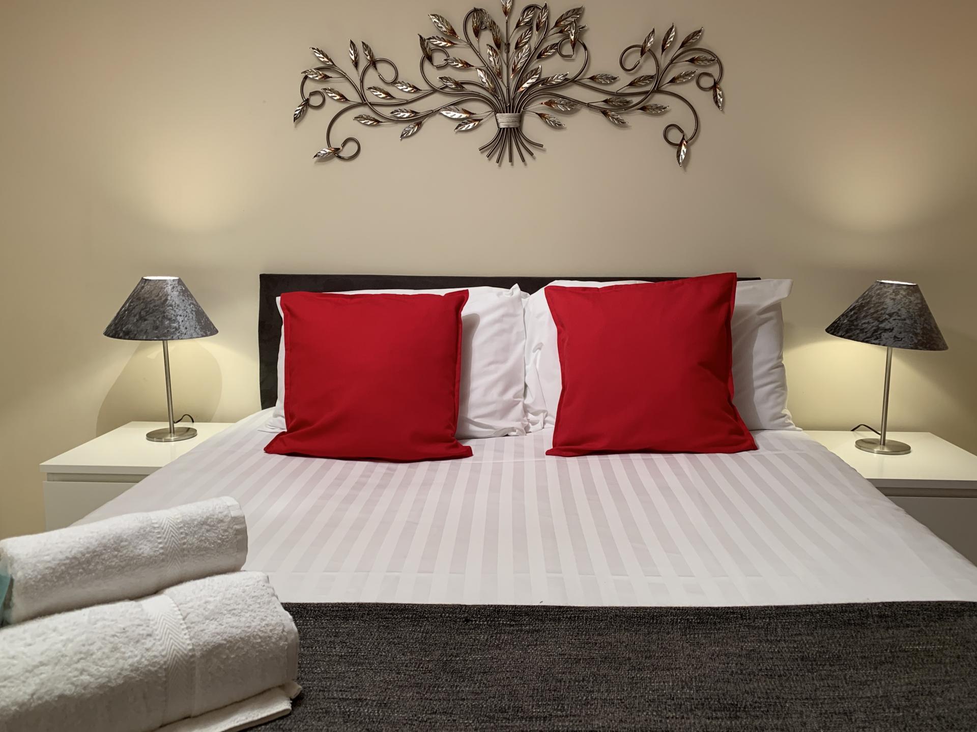 Pillows at Barley Mews Apartments, Centre, Peterborough