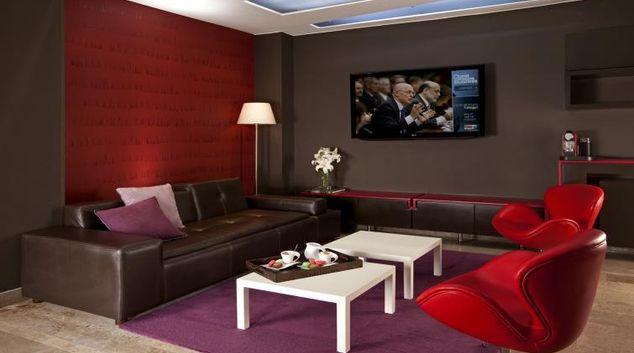 Living area at Parque Apartment