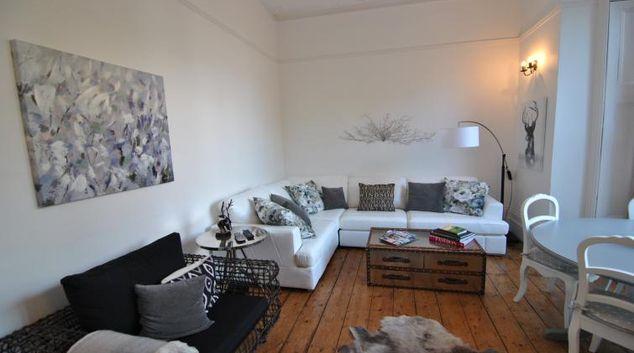 Living area at Osborne Road Apartment