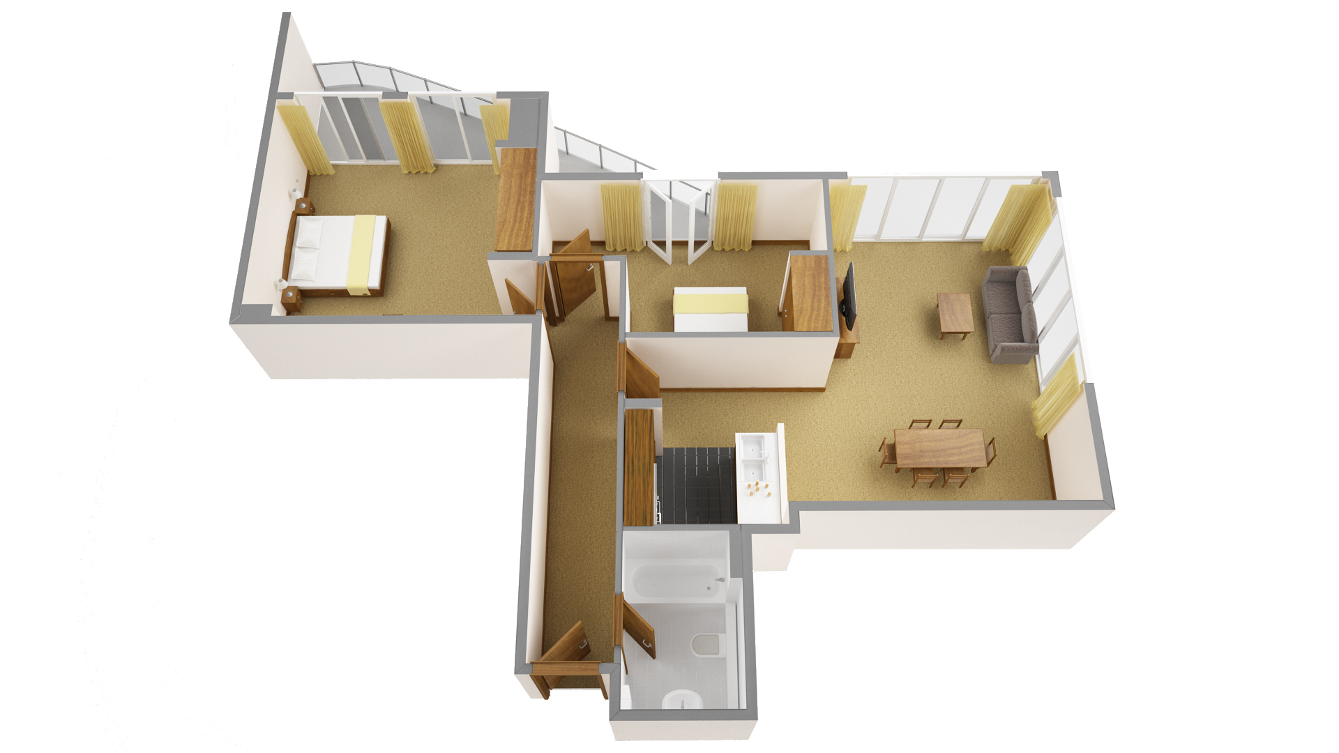 Second floor plan at Sanctum Maida Vale