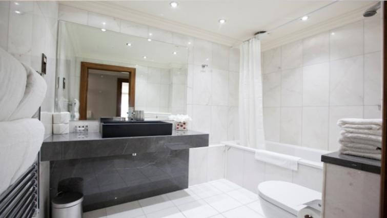 Sleek bathroom at Sanctum Maida Vale