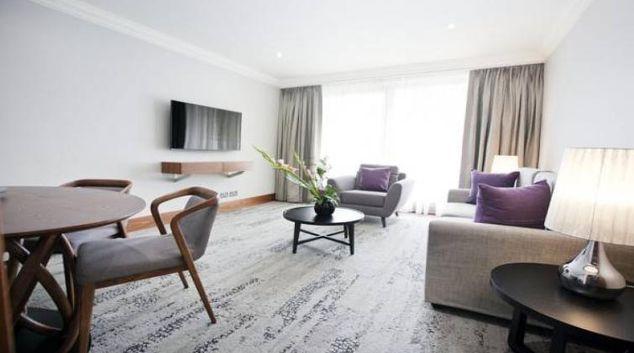 Smart lounge at Sanctum Maida Vale