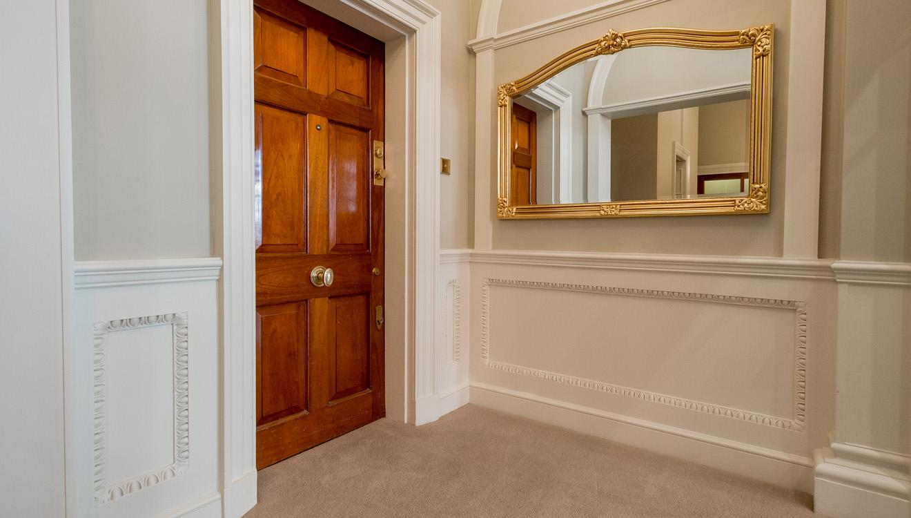 Hallway at 9 Hertford Street Apartments