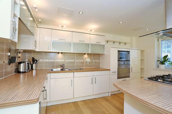 Kitchen at Kepplestone Apartments