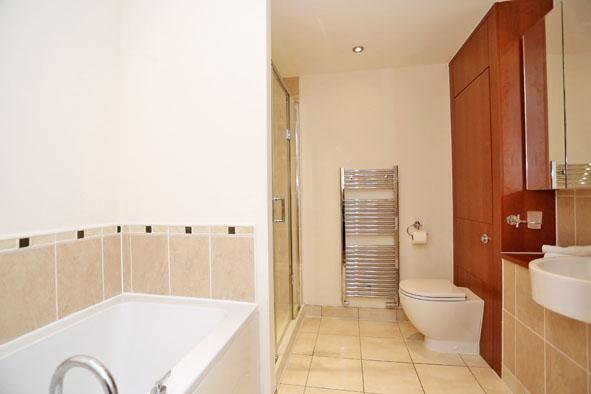 Bathroom at Kepplestone Apartments