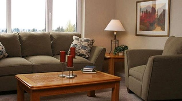 Living area at Aboda Sidney Apartments
