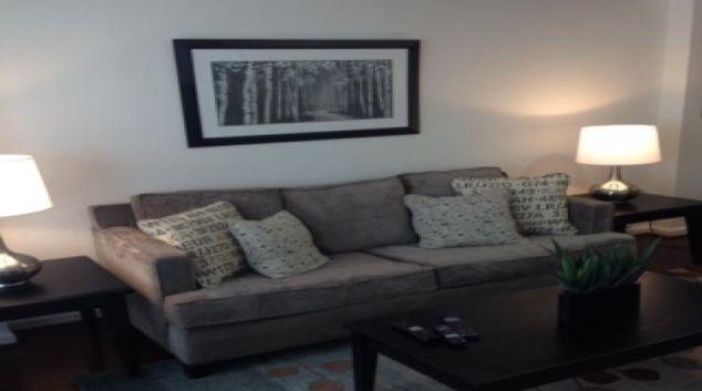 Living area at 1301 Thomas Circle Apartments