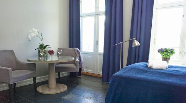 Living area at Colbjornsensgate Apartments
