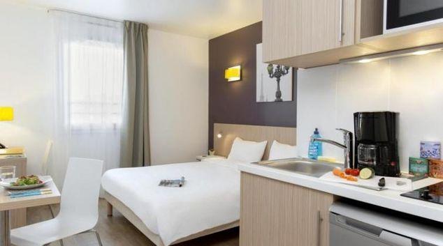 Bedroom at Adagio Access Paris Massy Gare TGV