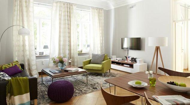Living area at Villa Salve