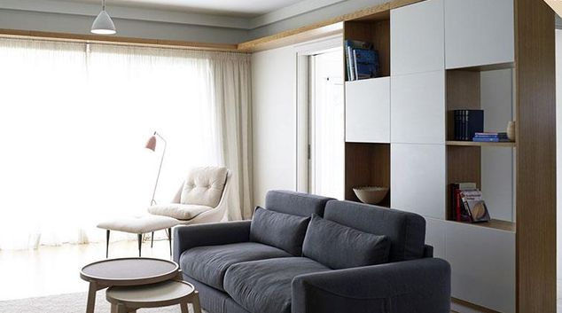Living area at Scale Suites Luxury Residence