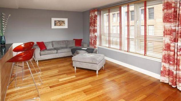 Living area at Ingram Street Apartments