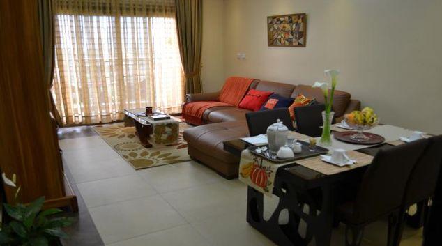 Living area at Rohi Apartment Hotel