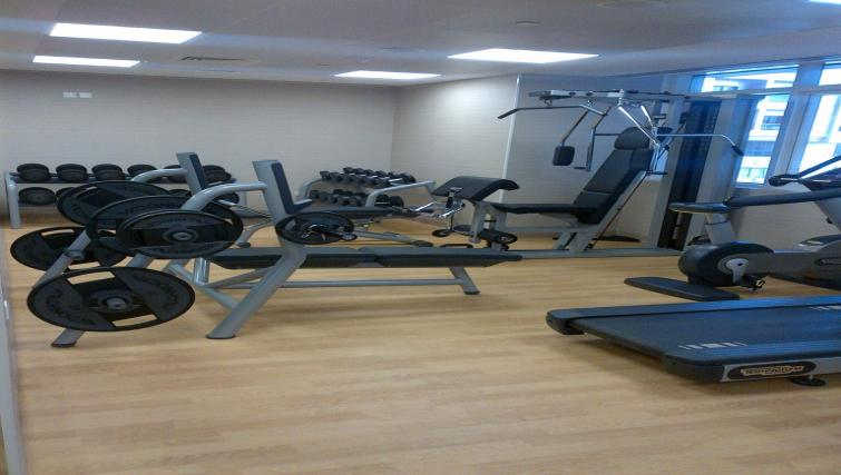 Gym at Links Hotel Apartments