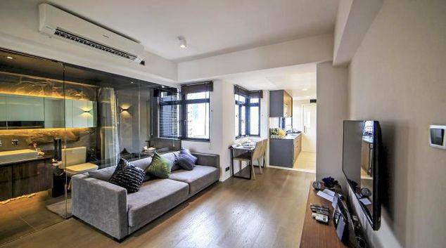Living area at Mori Mori Serviced Apartments