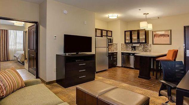 Spacious living area at Staybridge Suites Seattle - Fremont