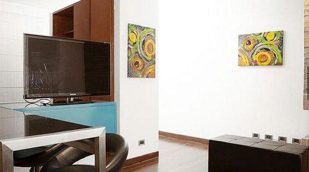 Living area at Autopista Chico Apartment