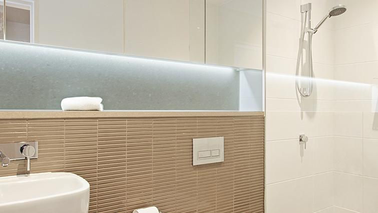 Bathroom at Astra North Sydney - Angelo Street Apartments