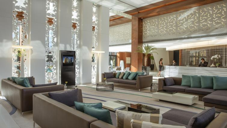 Lobby at Tango Arjaan Apartments