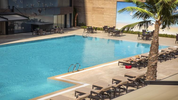 Pool at Burgu Arjaan Apartments
