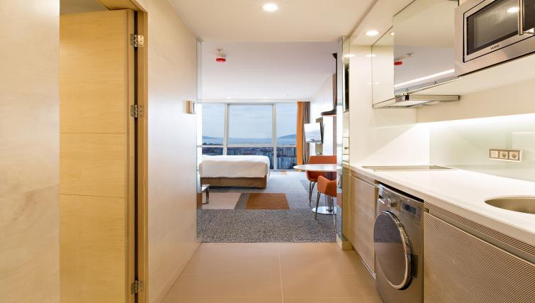 Kitchen at Burgu Arjaan Apartments