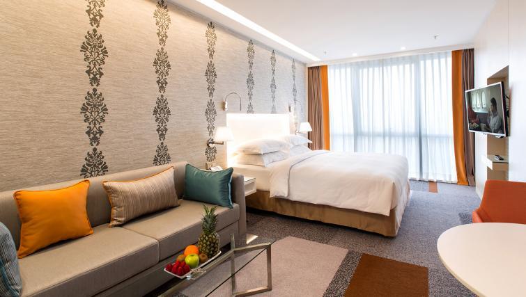Bedroom at Burgu Arjaan Apartments
