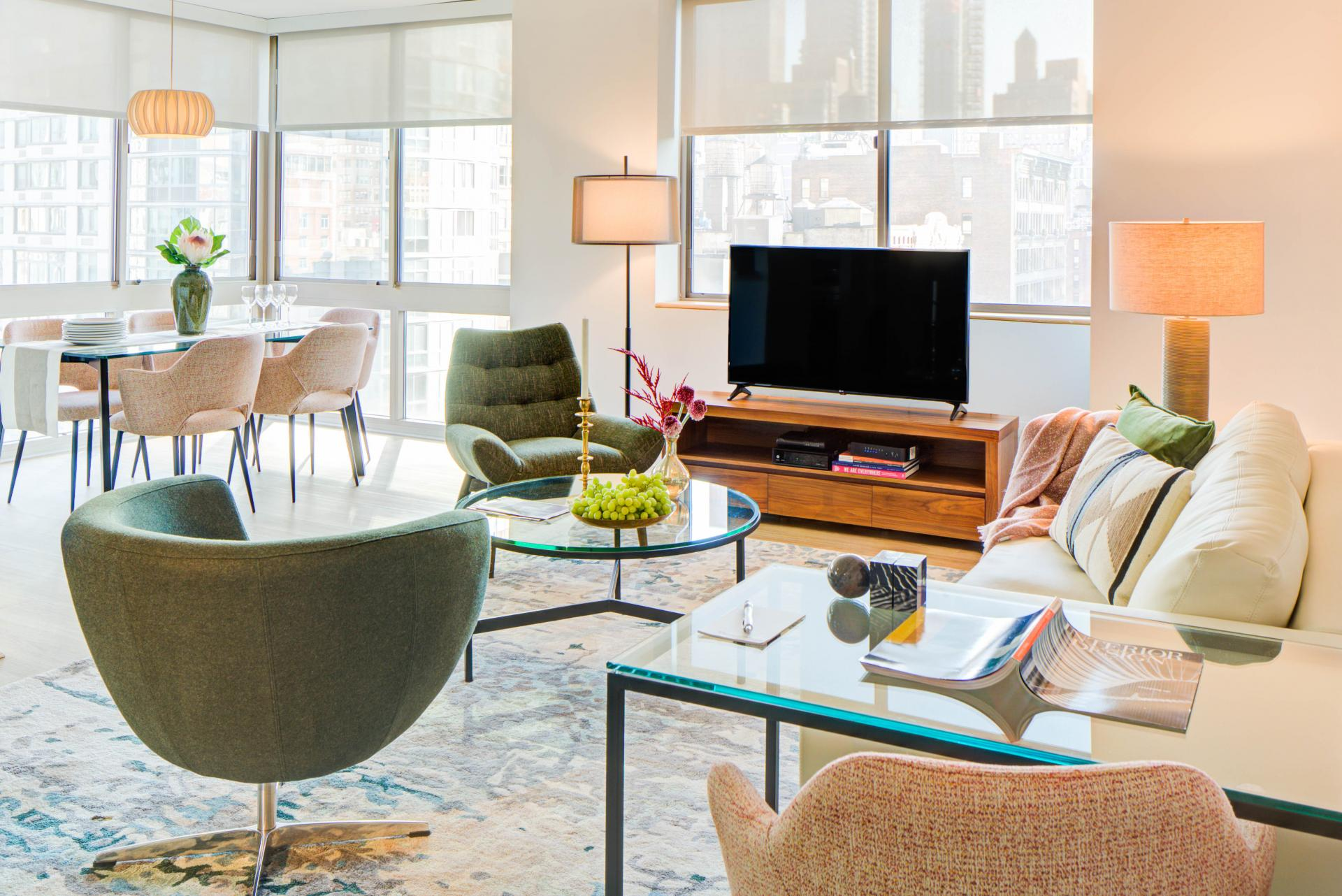 TV at 777 Sixth Avenue Apartments, Chelsea, New York