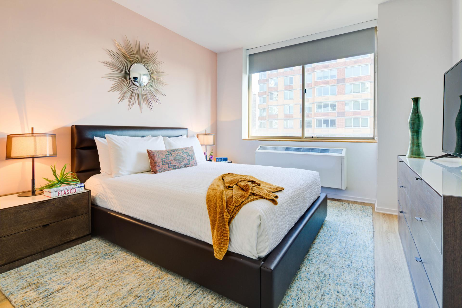 Bedroom at 777 Sixth Avenue Apartments, Chelsea, New York