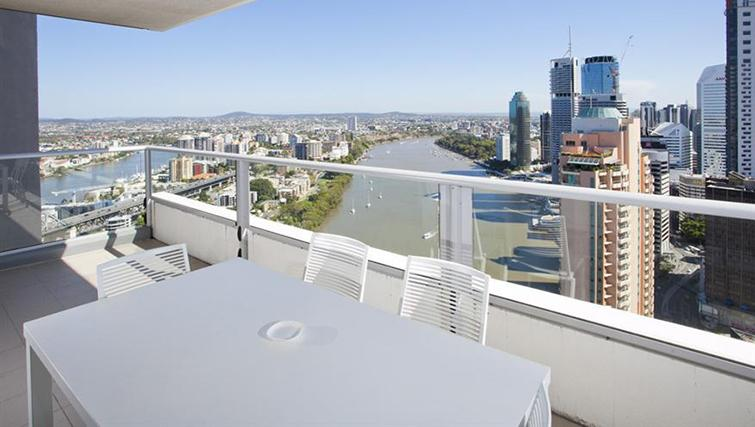 Balcony in 3 bed at Mantra on the Quay