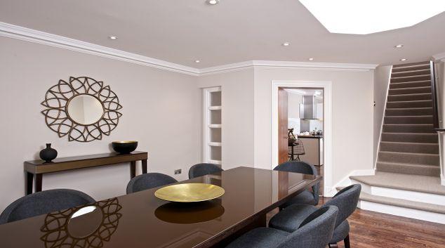 Living Room at Fraser Suites Kensington