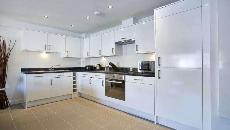Kitchen at Colne Lodge Apartments