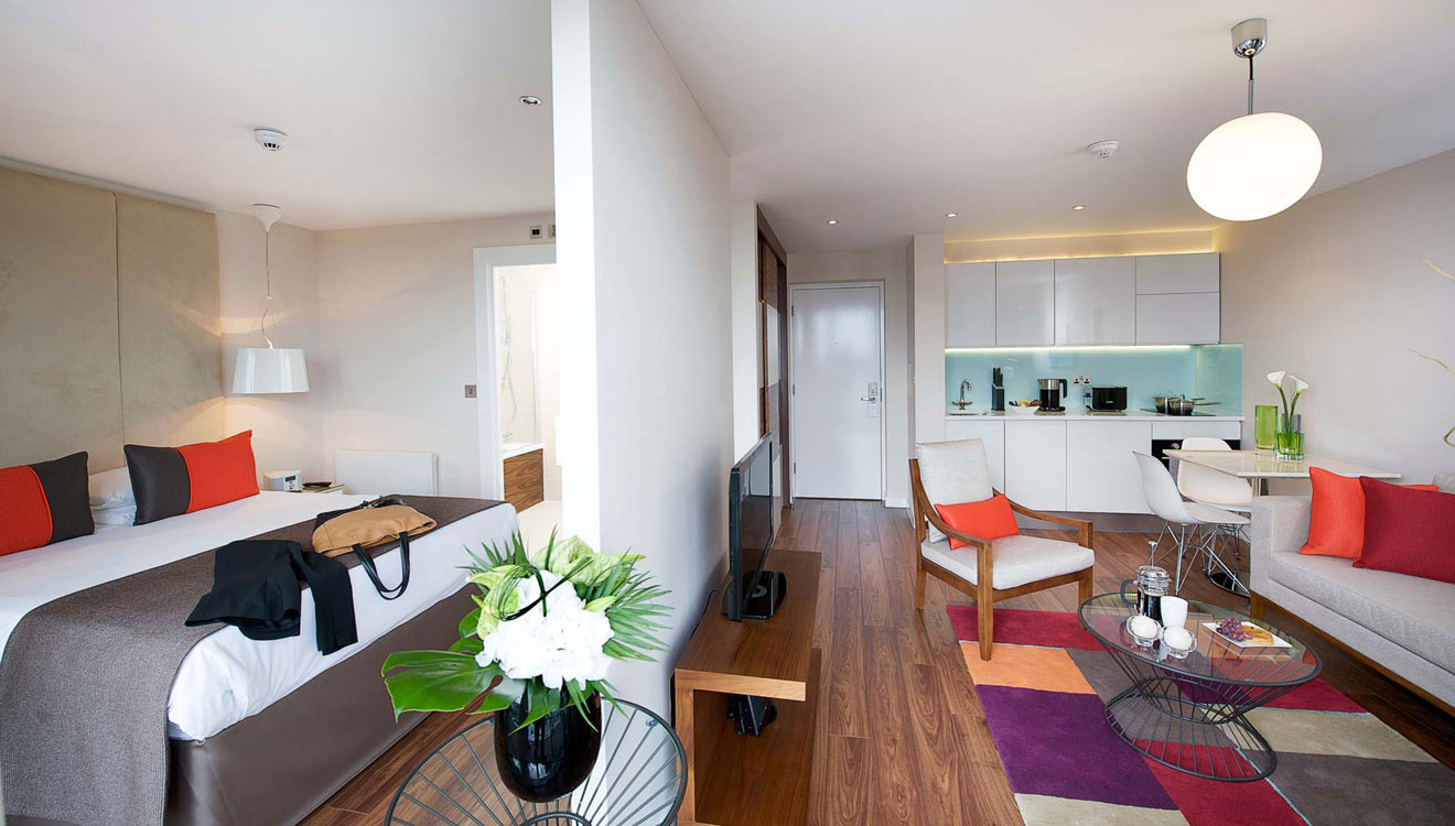 Studio at Fraser Place Canary Wharf