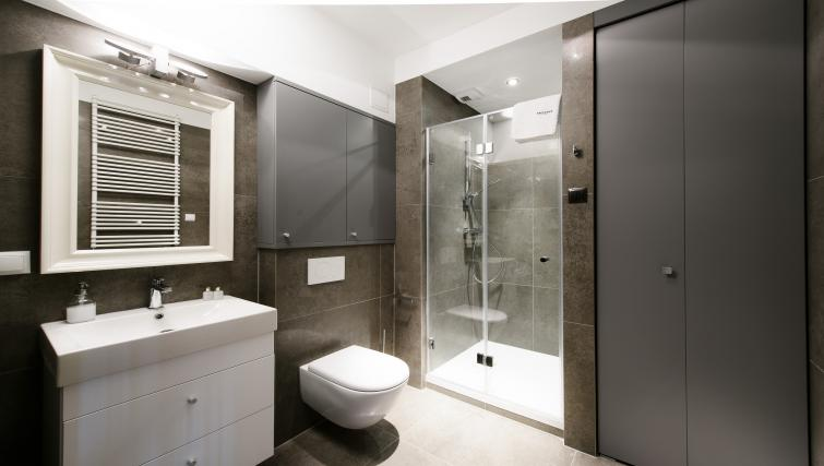 Shower room at Brewery Residence