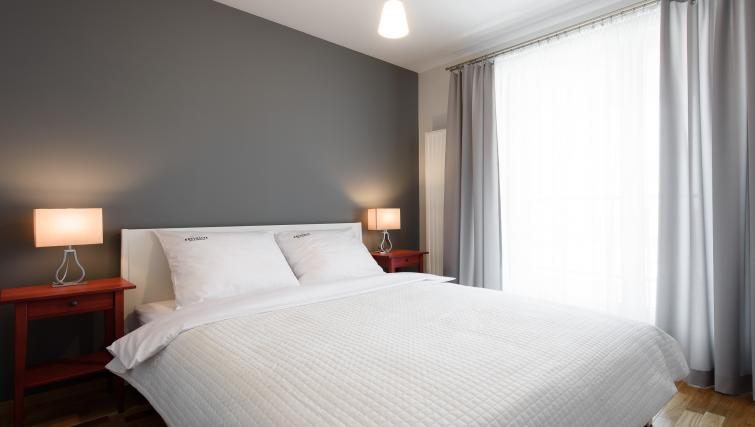 Double bedroom at Brewery Residence