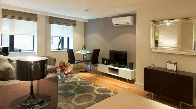 Living area at Fraser Residence City London