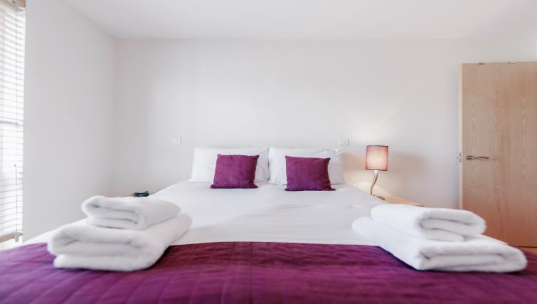 Double bedroom at Park Lane Apartments