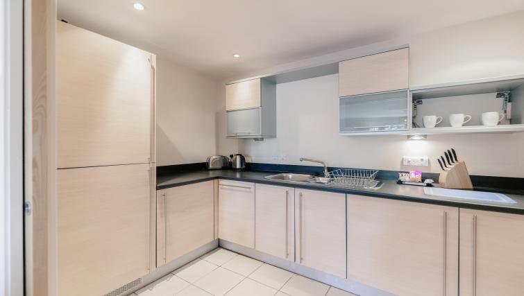 Kitchen at Park Lane Apartments