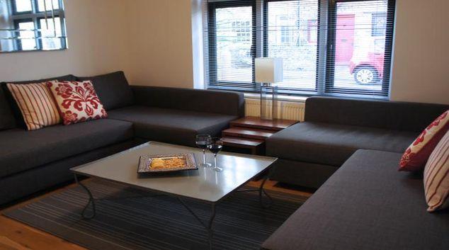 Living area at The Coast House