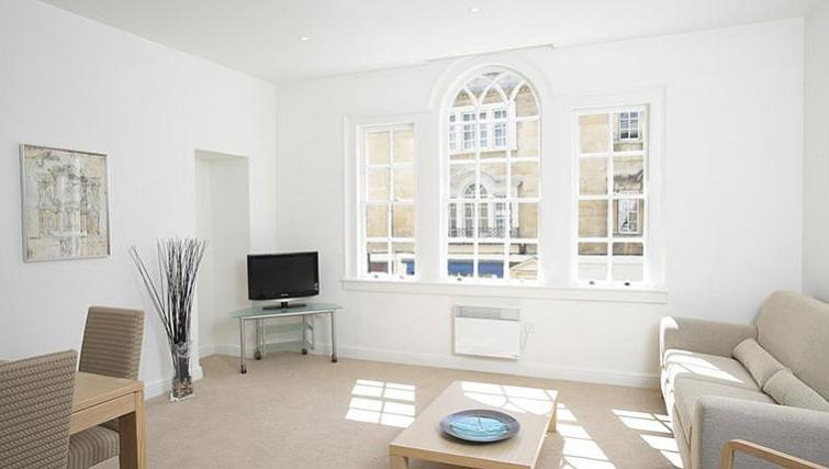 Vibrant living area in SACO Bath - St James's Parade