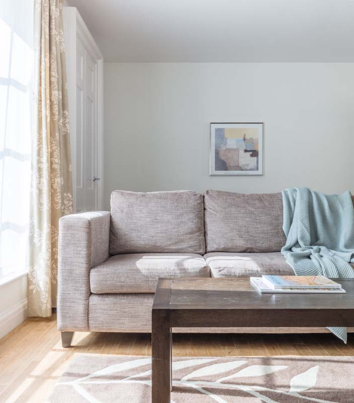 Comfy sofa at Saco Bath – St James's Parade
