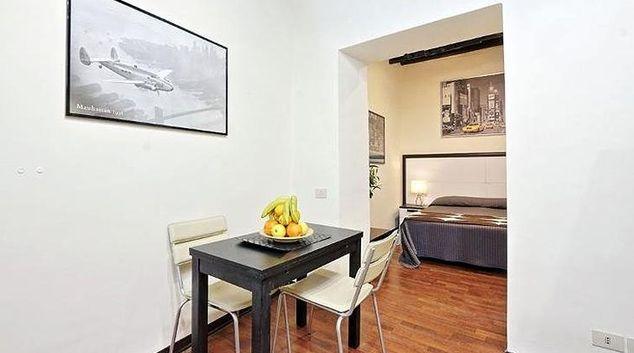 Living area at Cinque Apartment