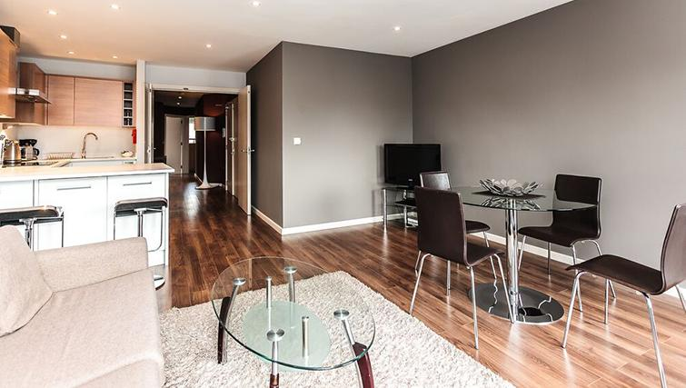 View Curtain Road Apartments with SilverDoor