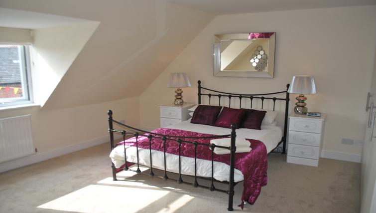 Bedroom at St Leonards' Apartment